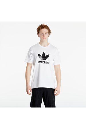 adidas Muži Trička - Adidas Trefoil Tee White