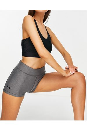 Under Armour Training Heat Gear base layer booty shorts in grey