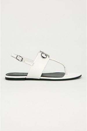 Calvin Klein Kožené sandály