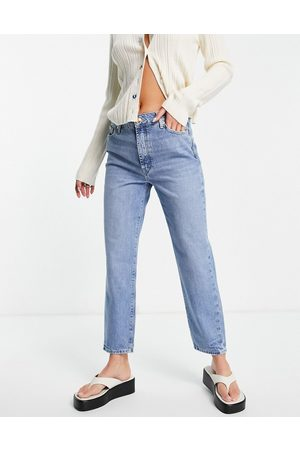 River Island Blair straight cut jeans in buzzy blue