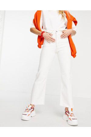 Tommy Jeans Ženy Zvonáče - Harper flare jean in white