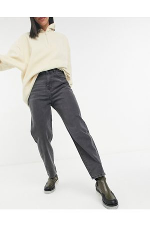 Noisy May Dad jeans in black