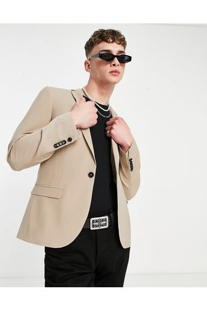 Twisted Tailor Muži Saka - Suit jacket with wool mix in stone-Neutral