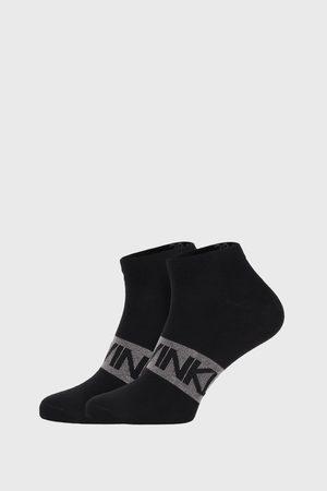 Calvin Klein 2 PACK černých ponožek Dirk