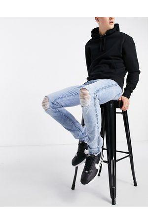 Dr Denim Snap skinny fit jeans-Blue