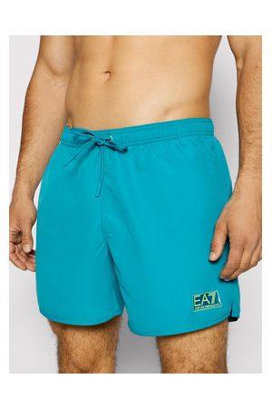 EA7 Muži Šortky - Plavecké šortky