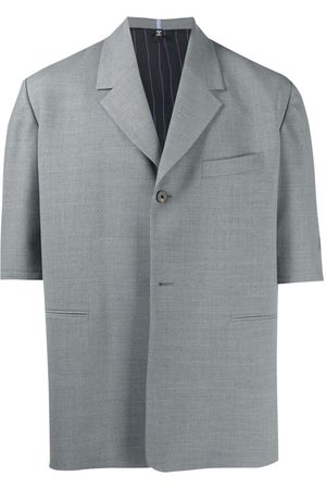 McQ Blazer-style short-sleeve shirt