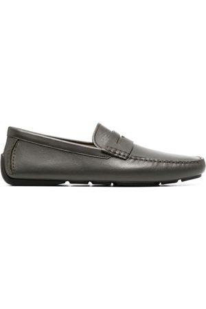 Bally Muži Nazouváky - Warno leather loafers
