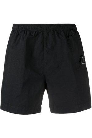 C.P. Company Muži Šortky - Goggle-lens pocket swim shorts