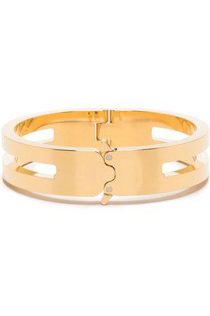 1017 ALYX 9SM Náramky - Cut-detail clasp bracelet