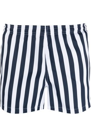 RON DORFF Muži Šortky - Striped swim shorts