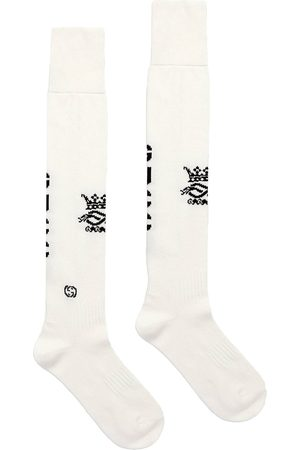 Gucci Muži Ponožky - Intarsia-knit logo sport socks