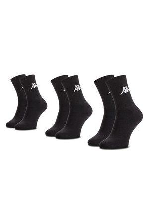 Kappa Ponožky - Sada 3 párů vysokých ponožek unisex
