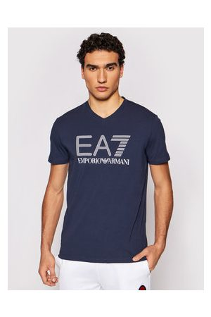 EA7 Muži S límečkem - T-Shirt