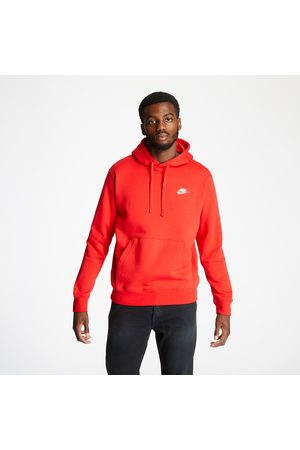 Nike M Sportswear Club Hoodie University Red/ University Red/ White