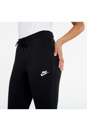 Nike Sportswear W Essential Fleece Mr Pant Tight Black/ White