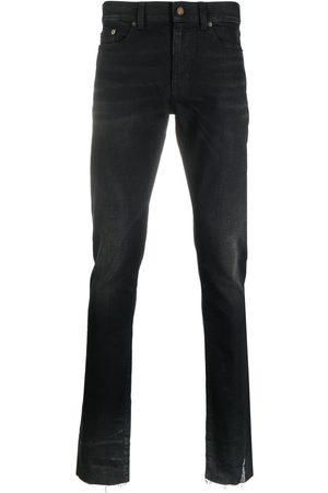 Saint Laurent Logo-patch denim jeans