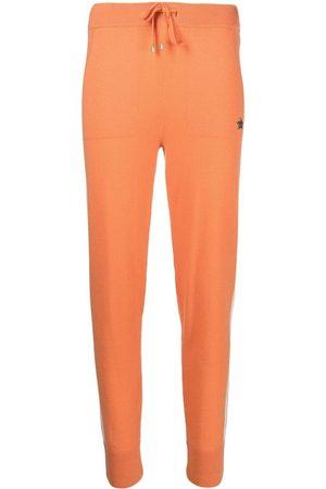 LORENA ANTONIAZZI Ribbed-knit jogging pants