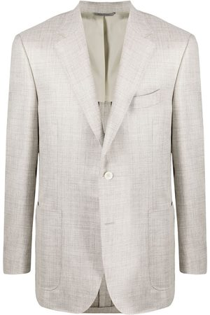 CANALI Single-breasted tailored blazer