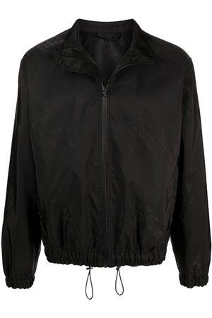 Helmut Lang Logo-jacquard bomber jacket