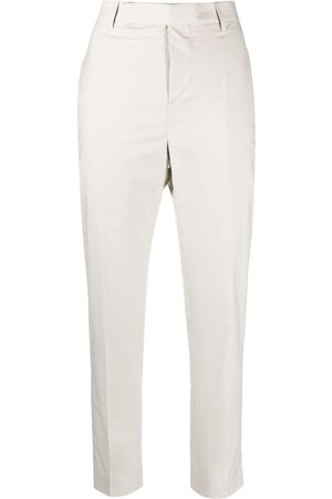 Rick Owens High-waisted slim fit trousers