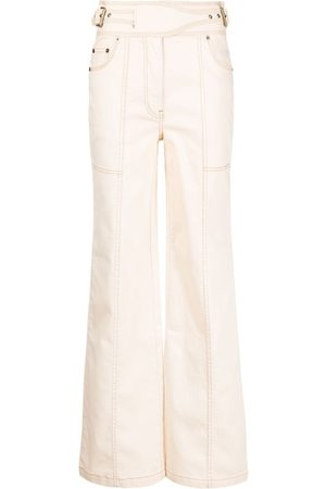 ULLA JOHNSON Albie high-waisted wide jeans