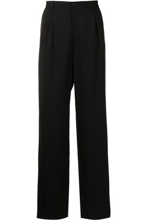 Emporio Armani Tailored wide-leg trousers