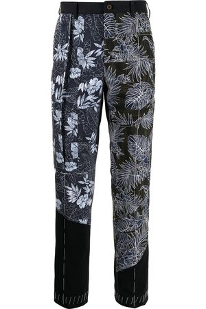 JUST IN XX Floral-print trousers