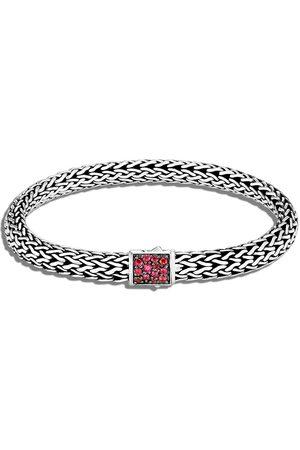 John Hardy Silver small Classic Chain reversible bracelet