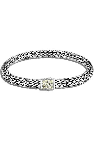 John Hardy Silver Classic Chain small reversible bracelet