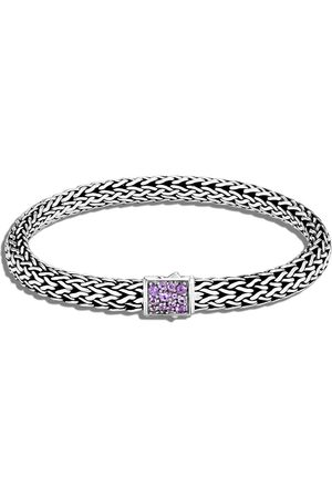 John Hardy Small silver Classic Chain reversible 6.5mm bracelet