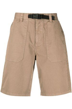 sun68 Knee-length buckle-detail shorts
