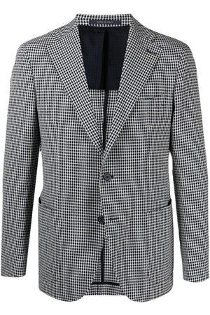 TAGLIATORE Single-breasted linen blazer