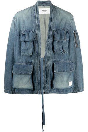 AMBUSH Belted denim jacket