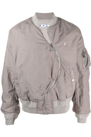 OFF-WHITE Muži Bombery - Twist bomber jacket