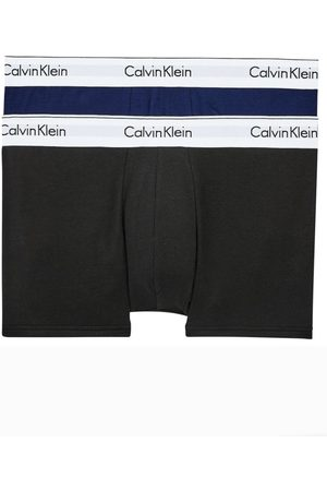 Calvin Klein Muži Boxerky - Pánské boxerky NB1086 2PACK L
