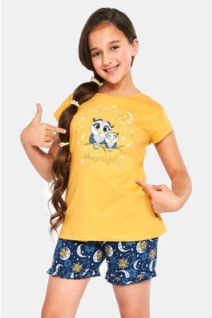Cornette Dívčí pyžamo Owls