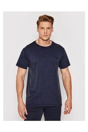 Guess Muži S límečkem - T-Shirt