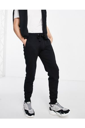 French Connection Slim fit jogger in black