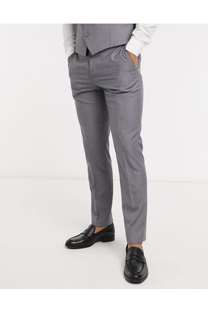 French Connection Ženy Úzké nohavice - Plain trousers in slim fit-Grey