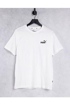 PUMA Muži S krátkým rukávem - Essentials small logo t-shirt in white