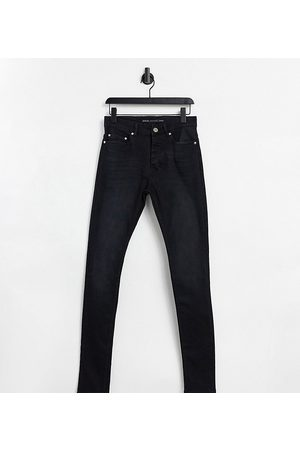 Brave Soul Tall ultimate skinny jeans in charcoal-Grey