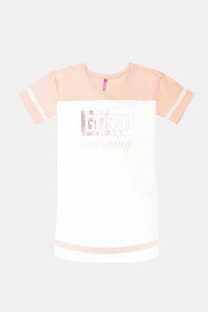Lina Pink Dívčí noční košile Crew