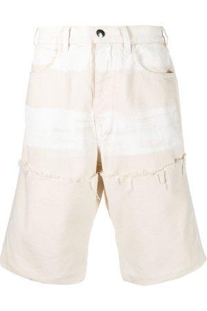 Marni Muži Bermudy - Frayed-detail bermuda shorts