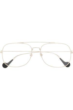 Moncler Aviator frame glasses