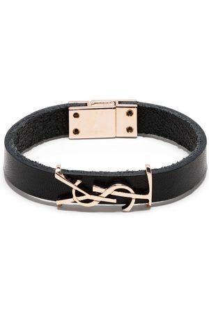 Saint Laurent Ženy Náramky - YSL logo leather bracelet