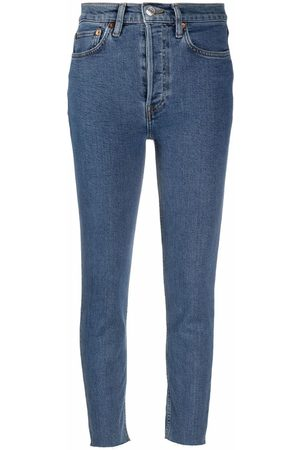 RE/DONE Ženy S vysokým pasem - 90s high-waisted skinny jeans