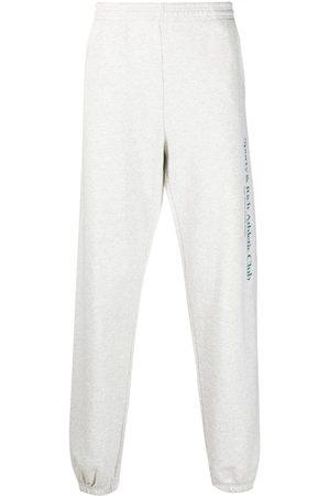 Sporty & Rich Logo-print cotton track pants