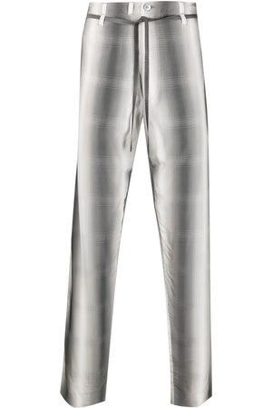 Marni Muži Rovné nohavice - Gradient striped straight-leg trousers