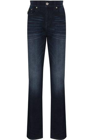 True Religion Muži Rovné nohavice - Mid-rise straight-leg jeans